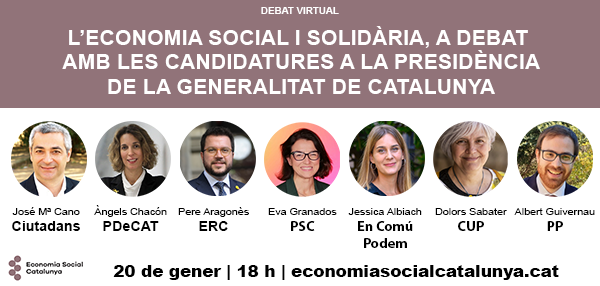 Debat Electoral 14F Economia Social i Solidària