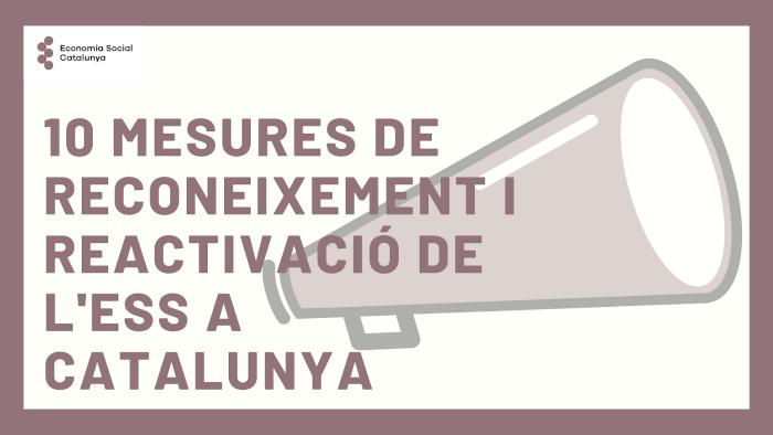 10 mesures de reconeixement i reactivació ESS